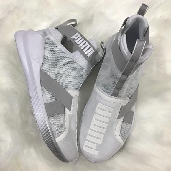 02ea8967fed4 Puma Fierce Strap Swan Sneaker